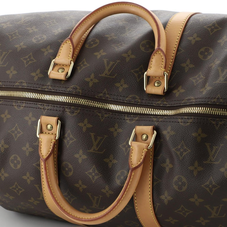 Louis Vuitton Keepall Bag Monogram Canvas 55 For Sale 2