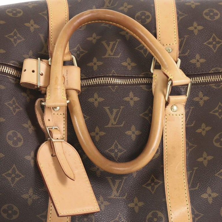 Louis Vuitton Keepall Bag Monogram Canvas 55 For Sale 2
