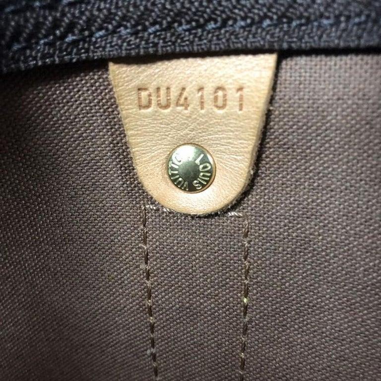 Louis Vuitton Keepall Bag Monogram Canvas 55 For Sale 4