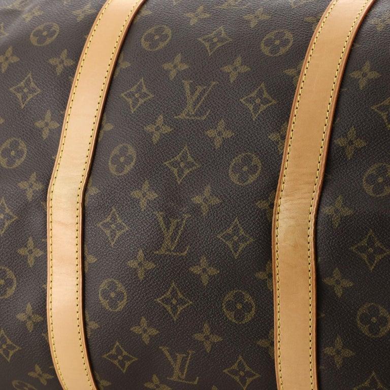 Louis Vuitton Keepall Bag Monogram Canvas 60 For Sale 2