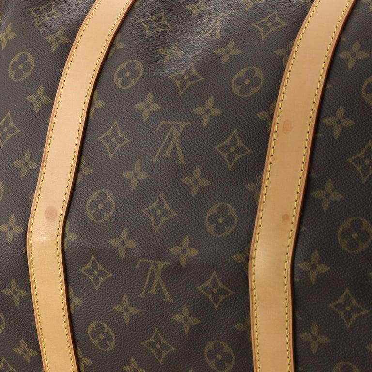 Louis Vuitton Keepall Bag Monogram Canvas 60 For Sale 3