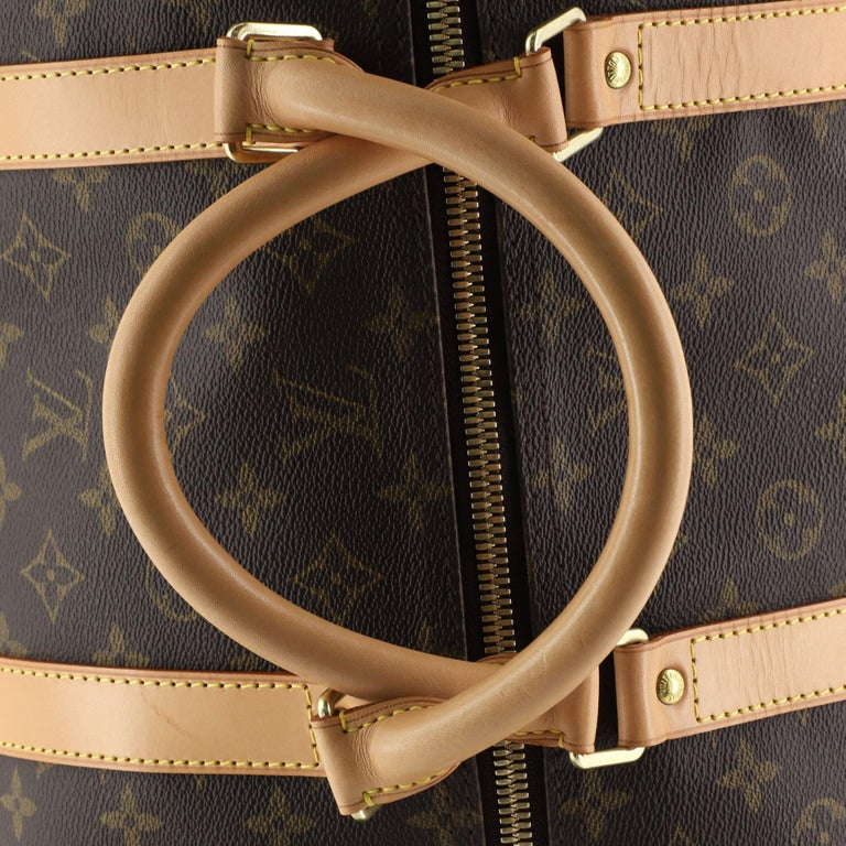 Louis Vuitton Keepall Bag Monogram Canvas 60 For Sale 4