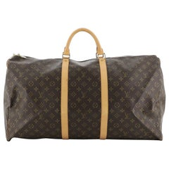 Louis Vuitton Keepall Bag Monogram Canvas 60