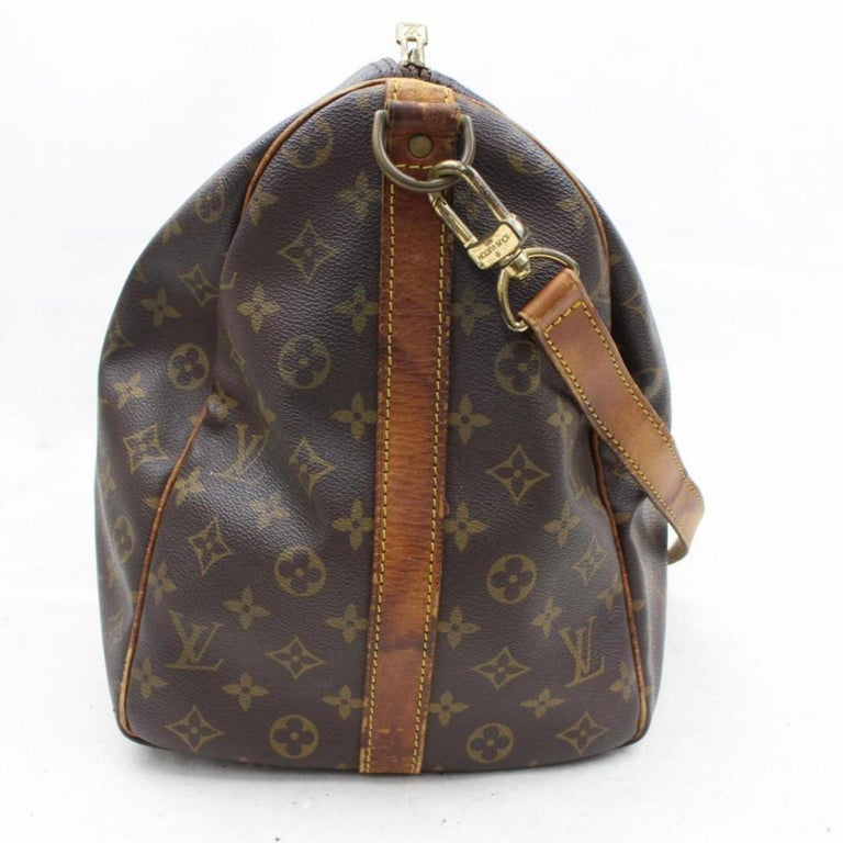 65fbf483a198 Louis Vuitton Keepall Bandouliere 50 866328 Coated Canvas Weekend Travel Bag  For Sale 1