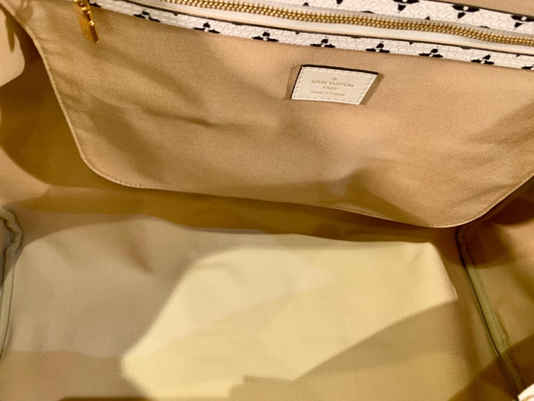 Louis Vuitton Keepall Bandouliere 50 Giant Travel Bag Summer 2019 Duffle Bag For Sale 10