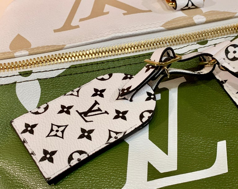 Louis Vuitton Keepall Bandouliere 50 Giant Travel Bag Summer 2019 Duffle Bag For Sale 2