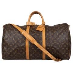Louis Vuitton Keepall Bandoulière 55 Bag