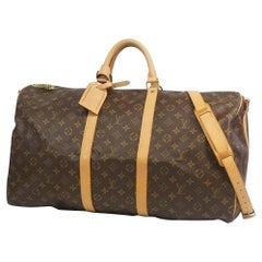 LOUIS VUITTON Keepall bandouliere 55 unisex Boston bag M41414