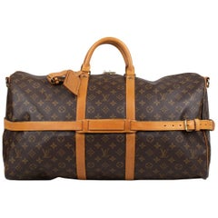 Louis Vuitton Keepall Bandoulière 55 Weekend Bag