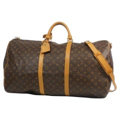 LOUIS VUITTON Keepall bandouliere 60 unisex Boston bag M41412