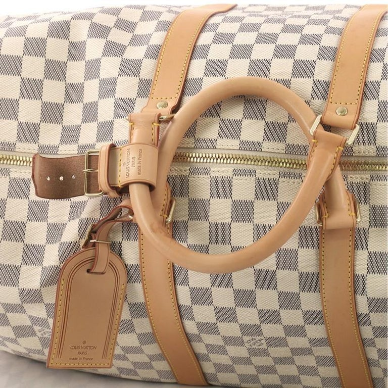 Louis Vuitton Keepall Bandouliere Bag Damier 55 For Sale 2