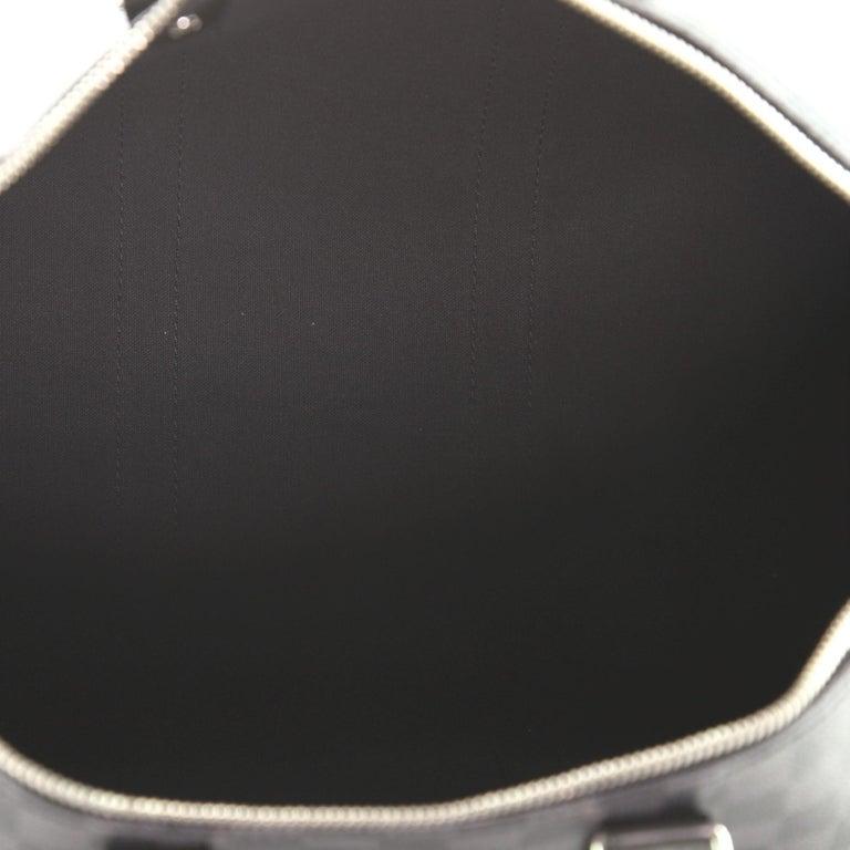 Louis Vuitton Keepall Bandouliere Bag Damier Graphite 45 For Sale 1