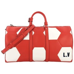 Louis Vuitton Keepall Bandouliere Bag Limited Edition FIFA World Cup Epi Leather