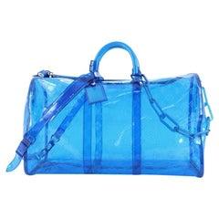 Louis Vuitton Keepall Bandouliere Bag Limited Edition Monogram PVC 50