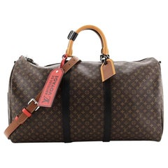 Louis Vuitton Keepall Bandouliere Bag Limited Edition Patchwork