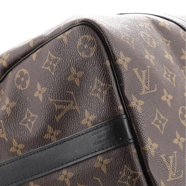 Louis Vuitton Keepall Bandouliere Bag Macassar Monogram Canvas 45 1
