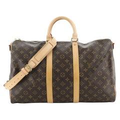 Louis Vuitton Keepall Bandouliere Bag Monogram Canvas 45
