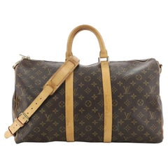 Louis Vuitton: Keepall Bandouliere Bag Monogram Canvas 45