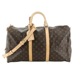 Louis Vuitton Keepall Bandouliere Bag Monogram Canvas 50