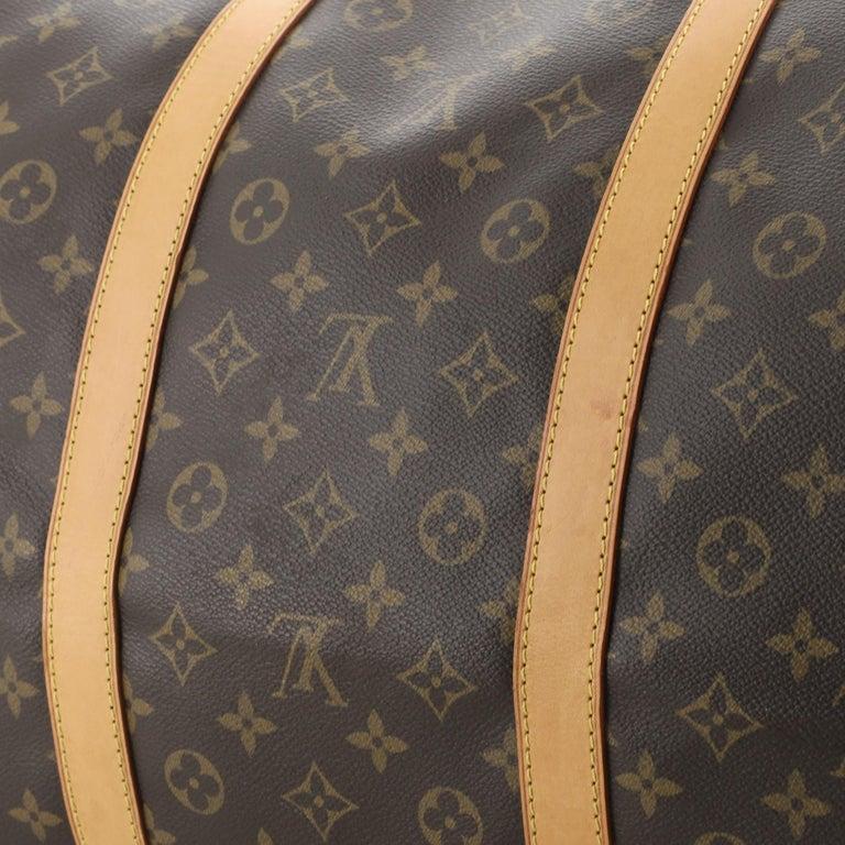 Louis Vuitton Keepall Bandouliere Bag Monogram Canvas 60 For Sale 2