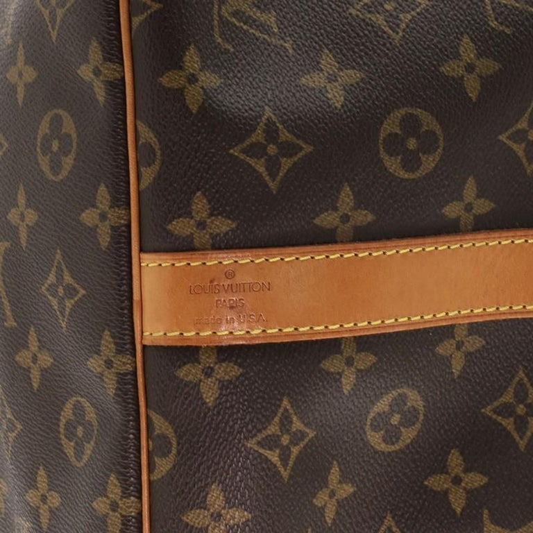 Louis Vuitton Keepall Bandouliere Bag Monogram Canvas 60 For Sale 1