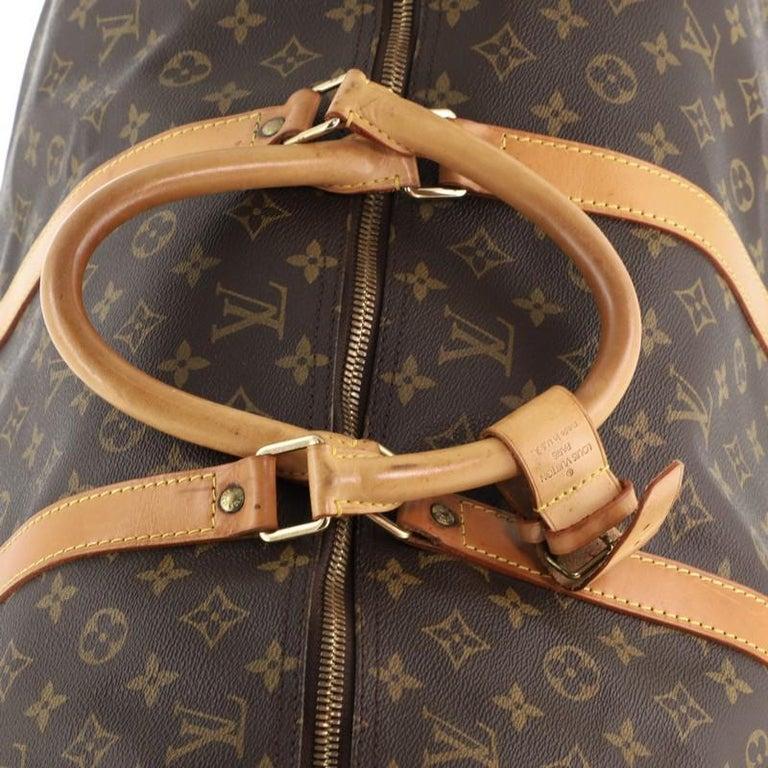 Louis Vuitton Keepall Bandouliere Bag Monogram Canvas 60 For Sale 3