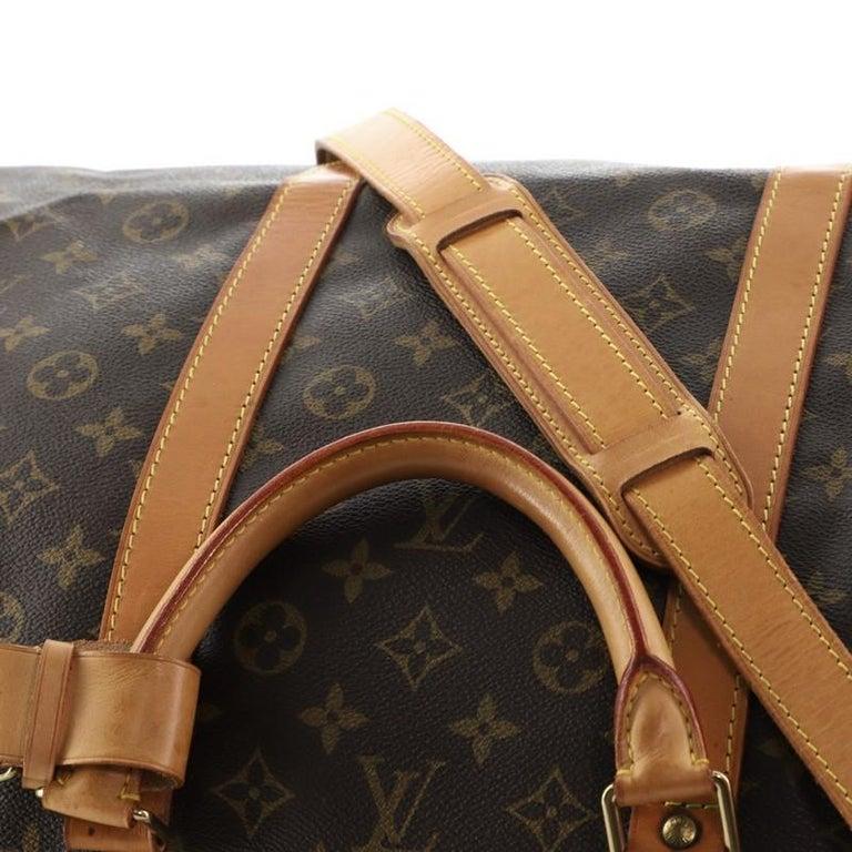 Louis Vuitton Keepall Bandouliere Bag Monogram Canvas 60 For Sale 4