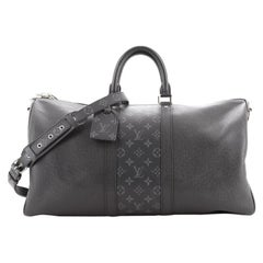 Louis Vuitton Keepall Bandouliere Bag Monogram Taigarama 50