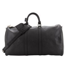 Louis Vuitton Keepall Bandouliere Bag Taiga Leather 50