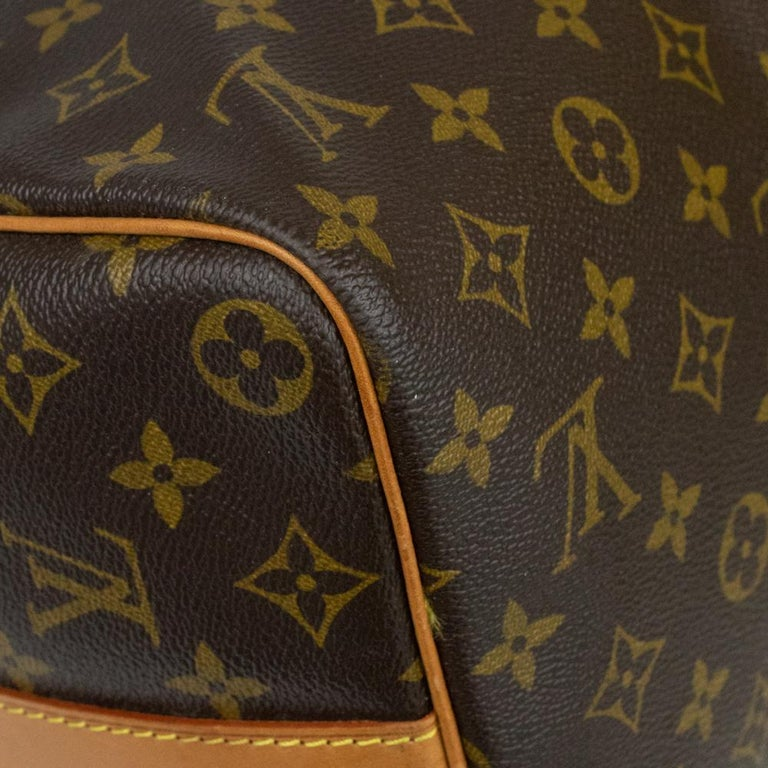 Louis Vuitton, Keepall in brown canvas 5