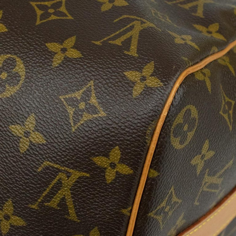 Louis Vuitton, Keepall in brown canvas 6