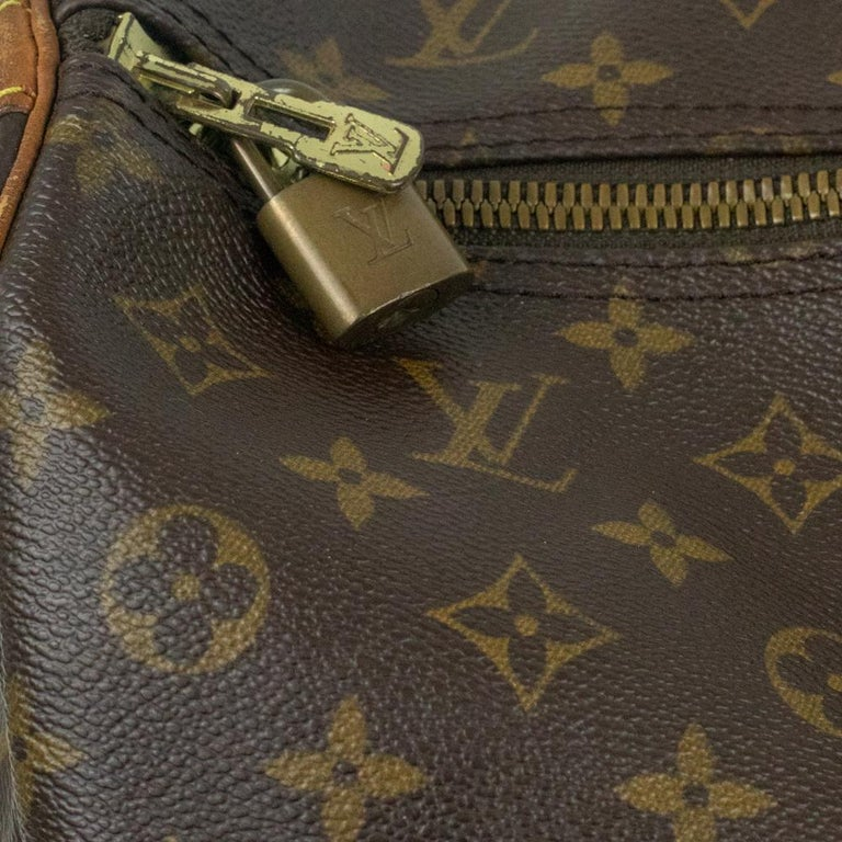Louis Vuitton, Keepall in brown canvas 7