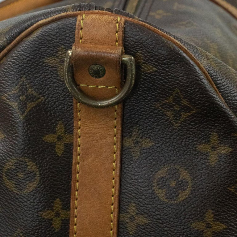 Louis Vuitton, Keepall in brown canvas 9