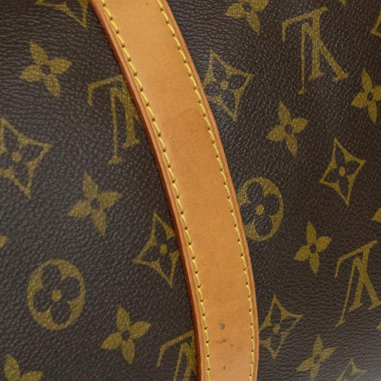 Louis Vuitton, Keepall in brown canvas 10