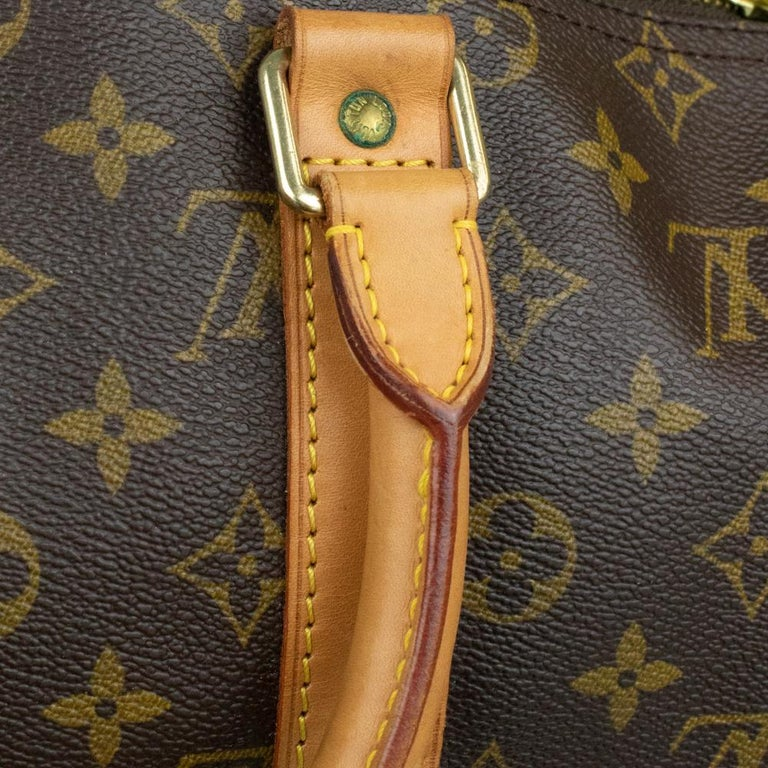 Louis Vuitton, Keepall in brown canvas 11