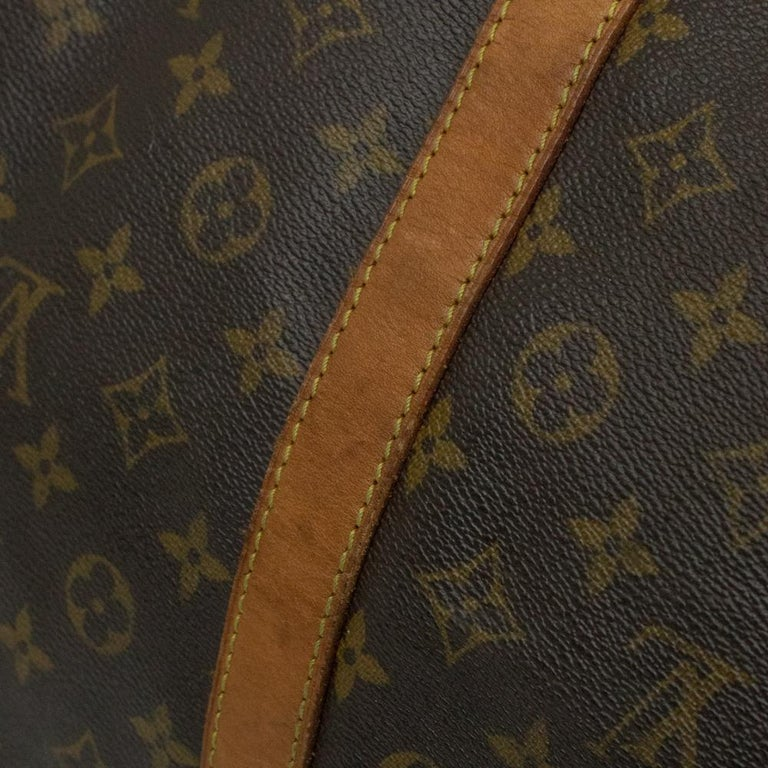 Louis Vuitton, Keepall in brown canvas 13