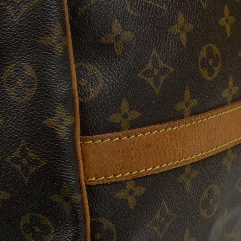 Louis Vuitton, Keepall in brown canvas 1