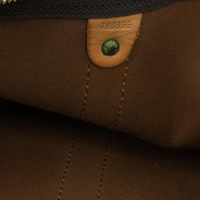 Louis Vuitton, Keepall in brown canvas 2
