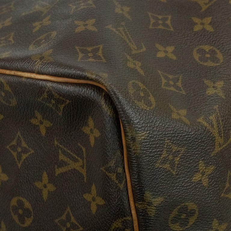 Louis Vuitton, Keepall in brown canvas 3