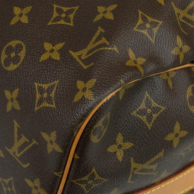 Louis Vuitton, Keepall in brown canvas 4