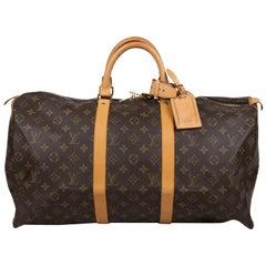 Louis Vuitton Keepall Monogram 50 Bag