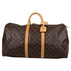 Louis Vuitton Keepall Monogram 55 Bag