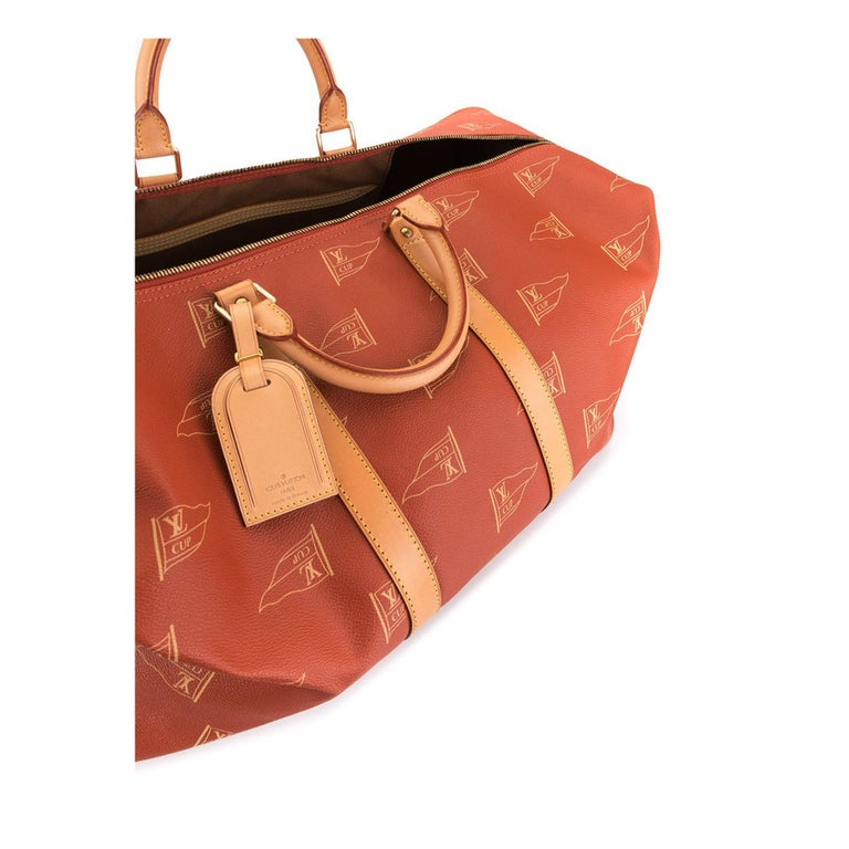 Women's or Men's Louis Vuitton Keepall Sailing Boating Duffel Rare Limited Edition Bag For Sale