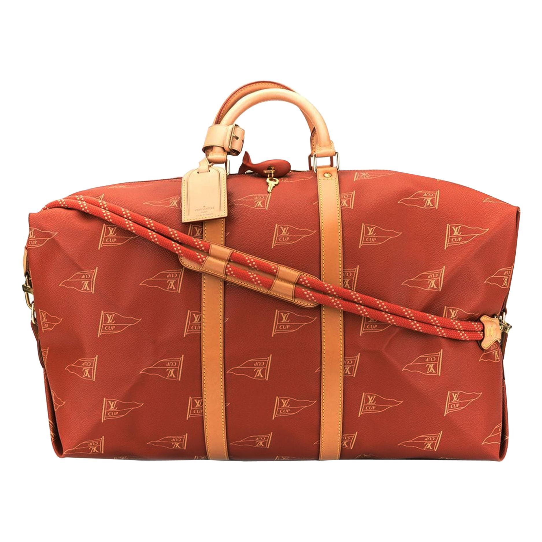 Louis Vuitton Keepall Sailing Boating Duffel Rare Limited Edition Bag