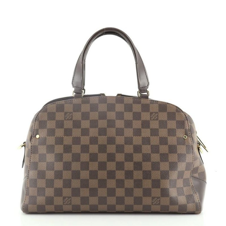Louis Vuitton Kensington Bowling Bag Damier In Good Condition In New York, NY