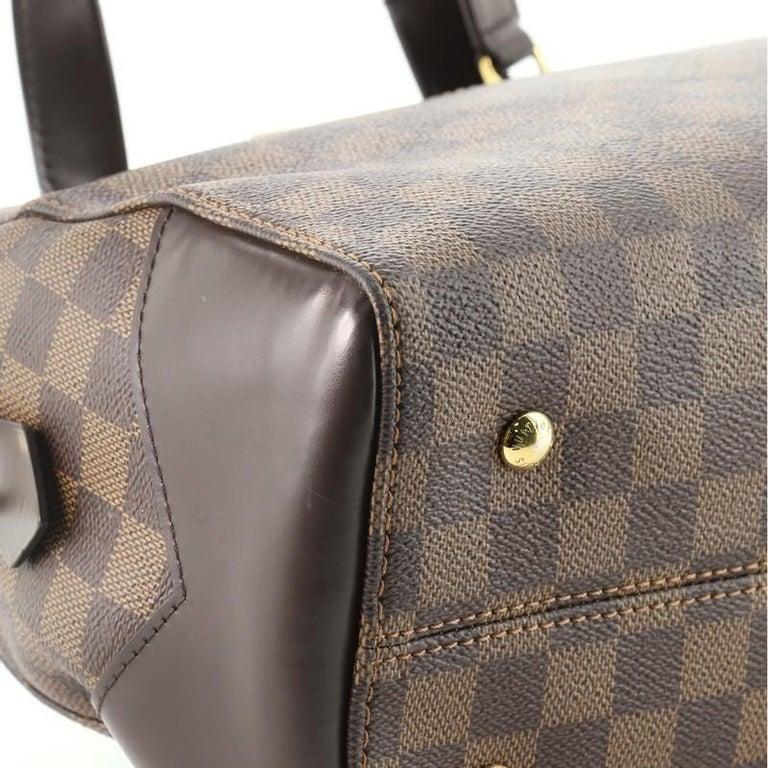 Louis Vuitton Kensington Bowling Bag Damier 3
