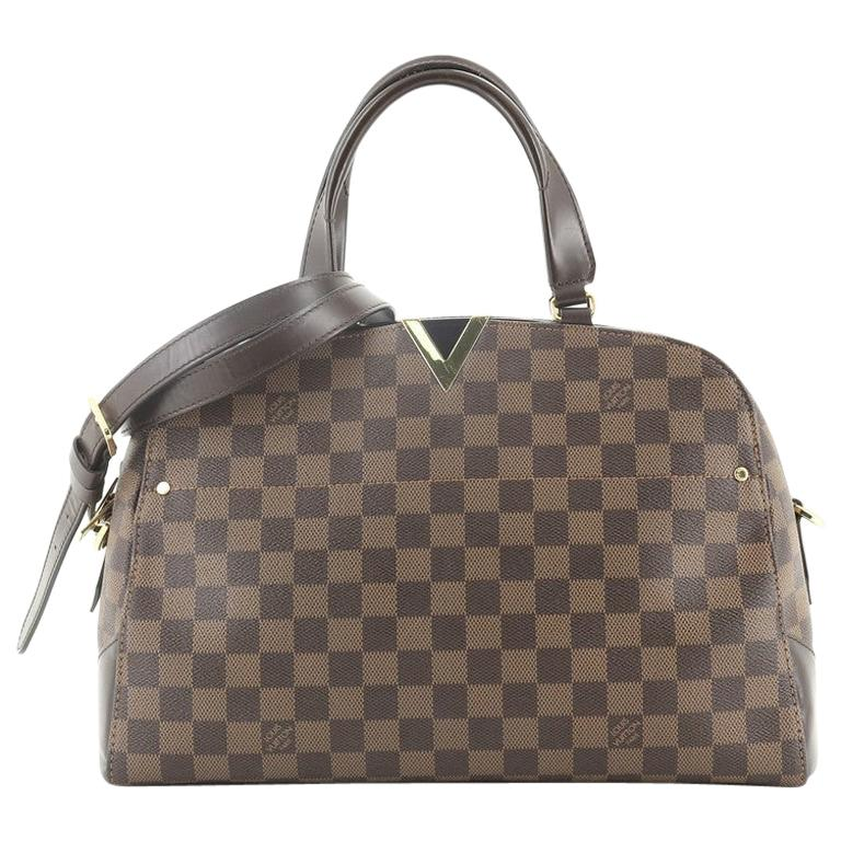 Louis Vuitton Kensington Bowling Bag Damier