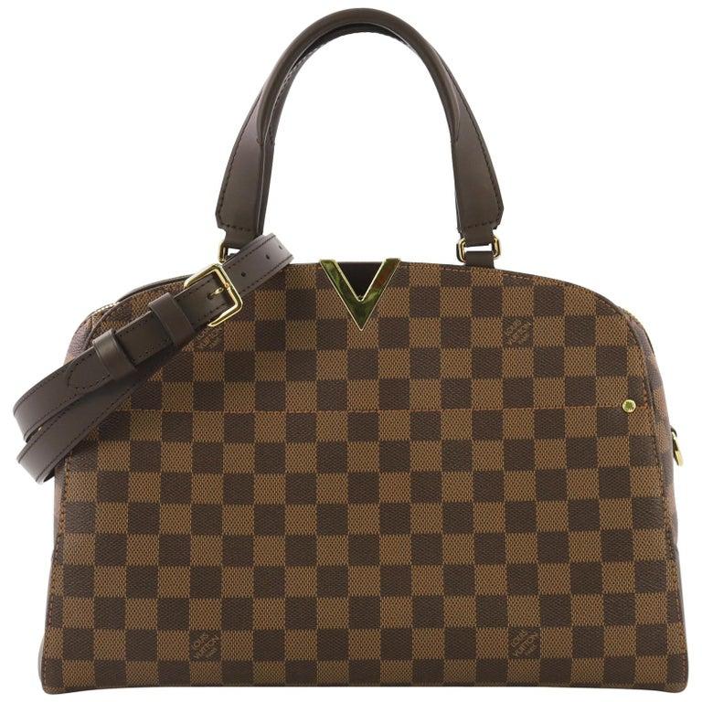 Louis Vuitton Kensington Bowling Bag Damier For Sale At