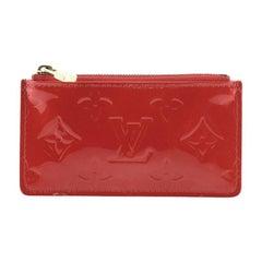 Louis Vuitton Key Pouch Vernis