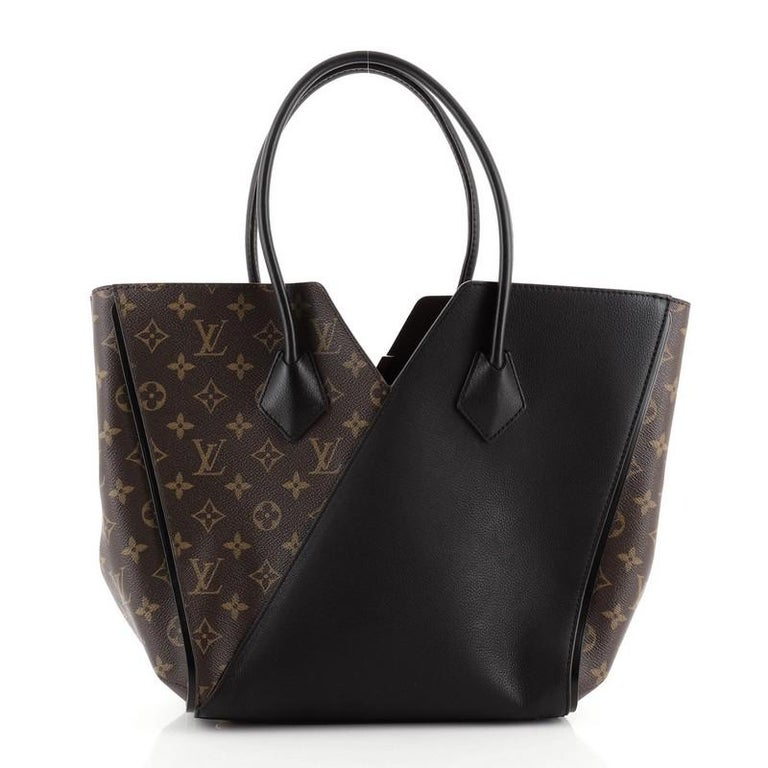 Women's or Men's Louis Vuitton Kimono Handbag Monogram Canvas and Leather MM For Sale